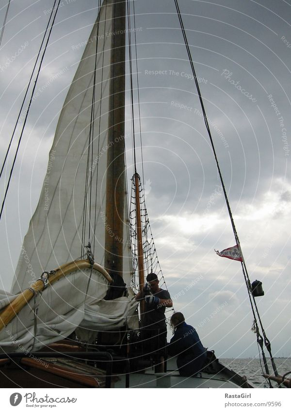 Water Gale Navigation Sail