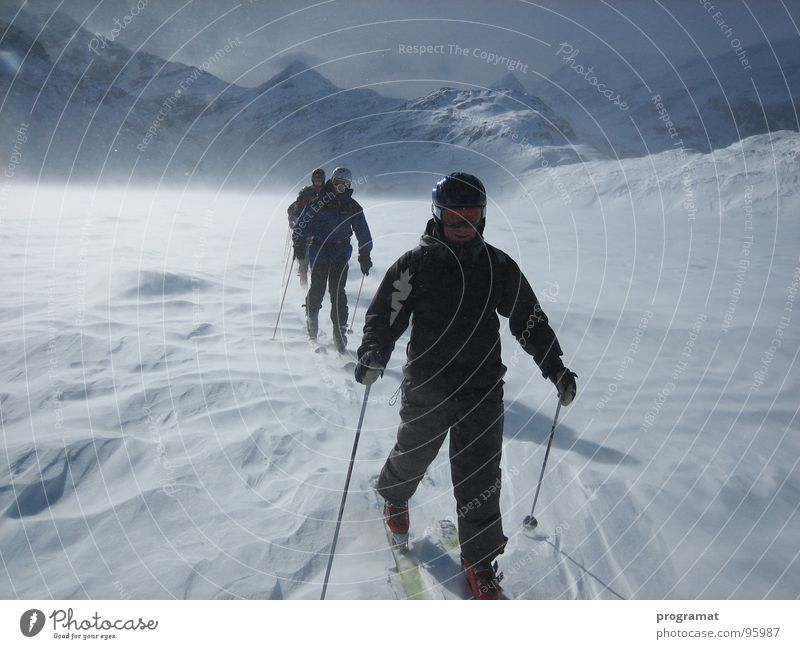 Nature White Joy Winter Far-off places Sports Cold Snow Relaxation Freedom Happy Wind Tall Electricity Skiing