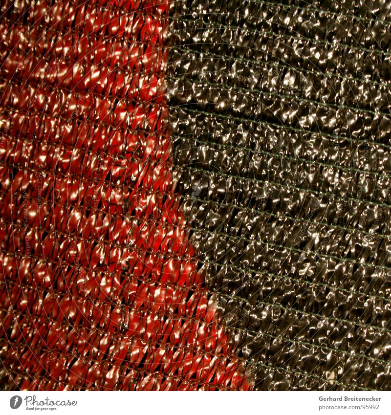 Red Black Glittering Net Cloth Moral Loop Dyeing