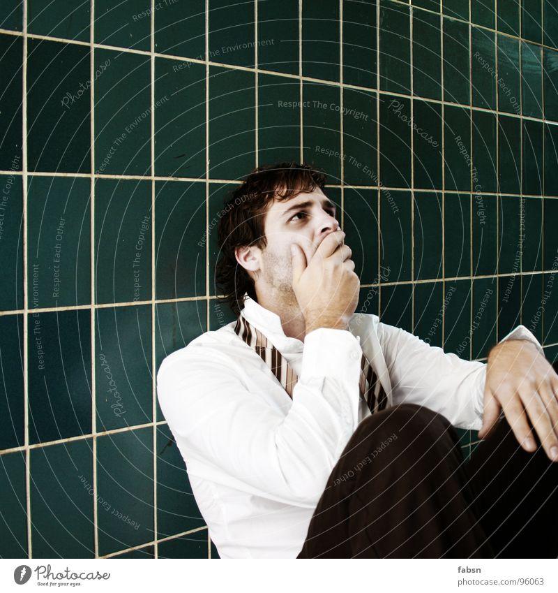 Human being White Green Eyes Sadness Business Air Work and employment Fear Design Dangerous Broken Threat T-shirt Grief End