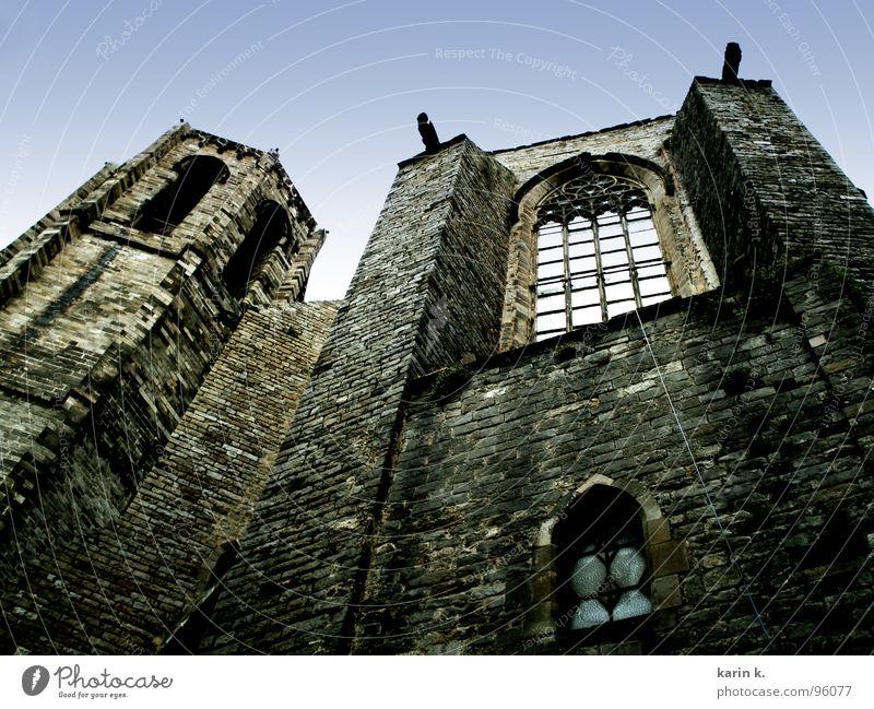 Wall (building) Window Wall (barrier) Religion and faith Rope Facade Creepy Brick House of worship