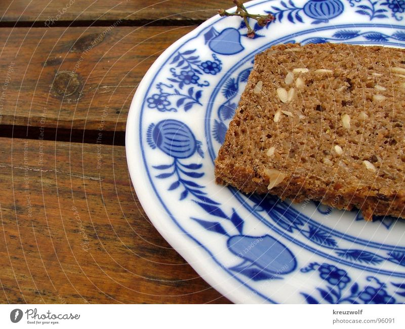 snack Bread Plate Wooden table Wholewheat Pottery Healthy Brunch Dinner Delicious Brown Grain Rustic Bavaria Exterior shot Picnic Grainy Breakfast Appetite Full