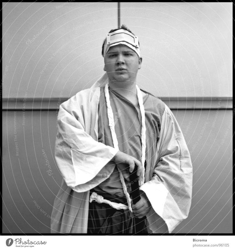The Samurai Anime Manga Identity Portrait photograph Medium format Playing Youth (Young adults) Life