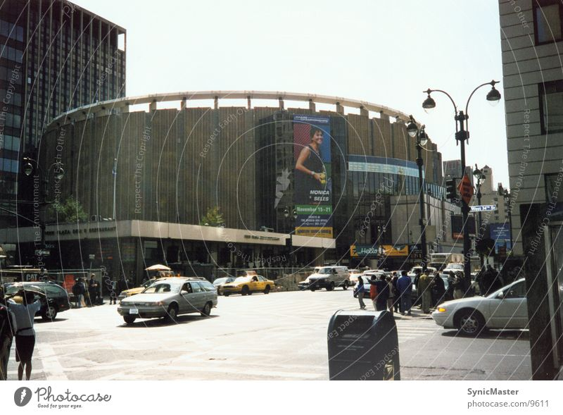 Madison Square Garden New York City Manhattan North America USA Basketball