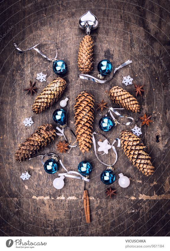 Nature Old Blue Christmas & Advent Winter Dark Interior design Style Wood Brown Flat (apartment) Living or residing Design Heart Star (Symbol) Card