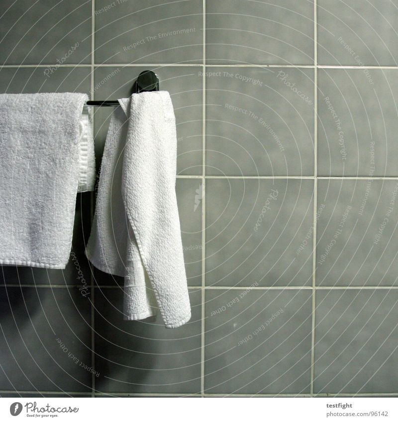 towels Hotel Bathroom Towel Flow Wall (building) Vacation & Travel In transit Tile striking Detail dry off Wellness