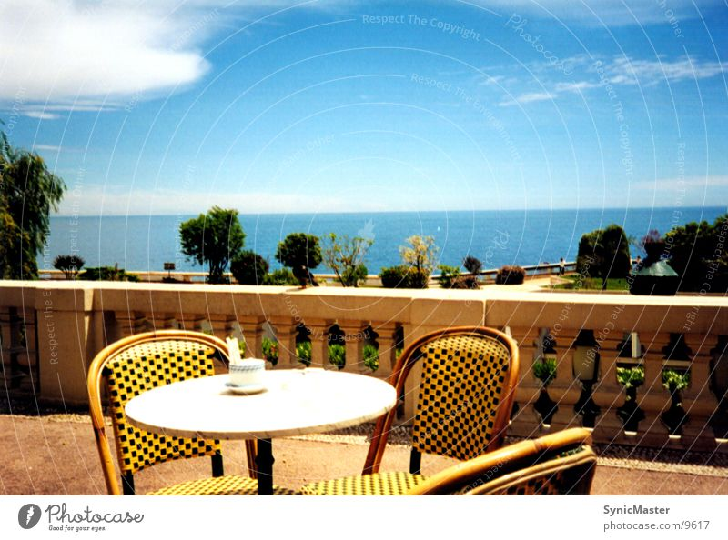 sea view Monaco Ocean Table Europe Chair Water
