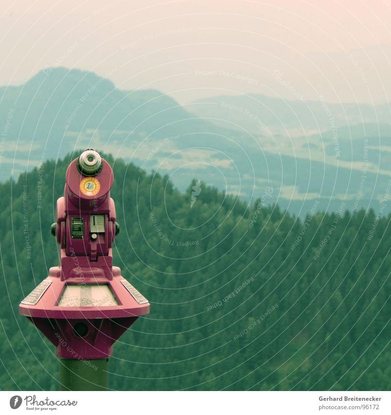 Forest Mountain Landscape Vantage point Observe Hill Dusk Binoculars Objective Review