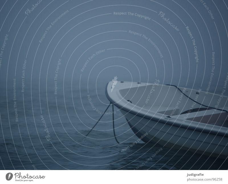 Water Ocean Beach Calm Dark Lake Watercraft Waves Coast Fog Weather Rope Passion Navigation Baltic Sea Eerie