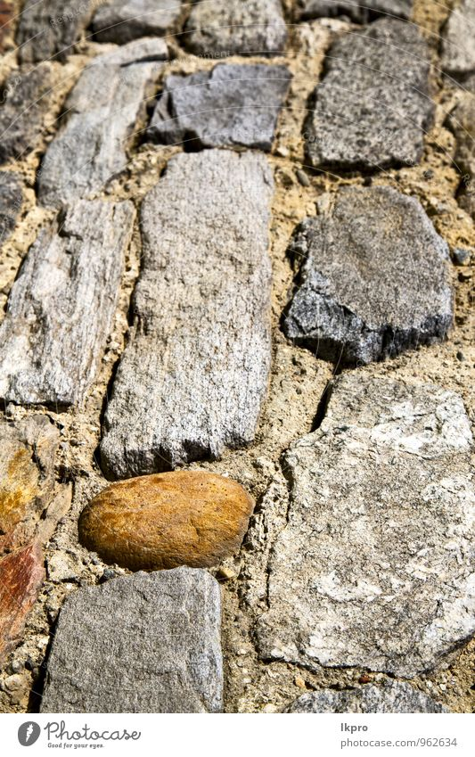 brick the in arsago seprio street lombardy italy City Old White House (Residential Structure) Black Eyes Yellow Street Wall (building) Architecture Wall (barrier) Stone Brown Line Sand Facade