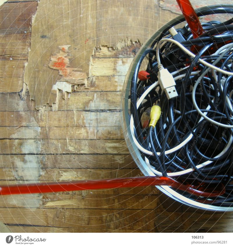 GOOD APPETITE: CABLE SPAGHETTI [INTRO] Terminal connector Delicious Connector Nutrition Supply pipe Connection Internet DSL Wire Wire cable String Freak