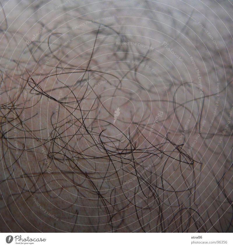 Human being Black Skin Shave