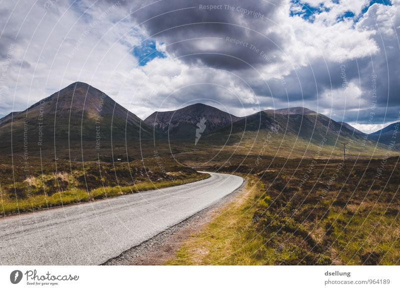 Sky Nature Blue Green Summer Landscape Clouds Environment Yellow Mountain Street Autumn Meadow Lanes & trails Natural Spring