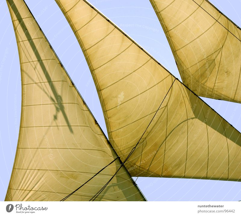 Full ahead! Sailing ship Watercraft Art Ocean In transit Wanderlust Trip Navigation system Luff Sports Baltic Sea Freedom set sail full speed Electricity pylon
