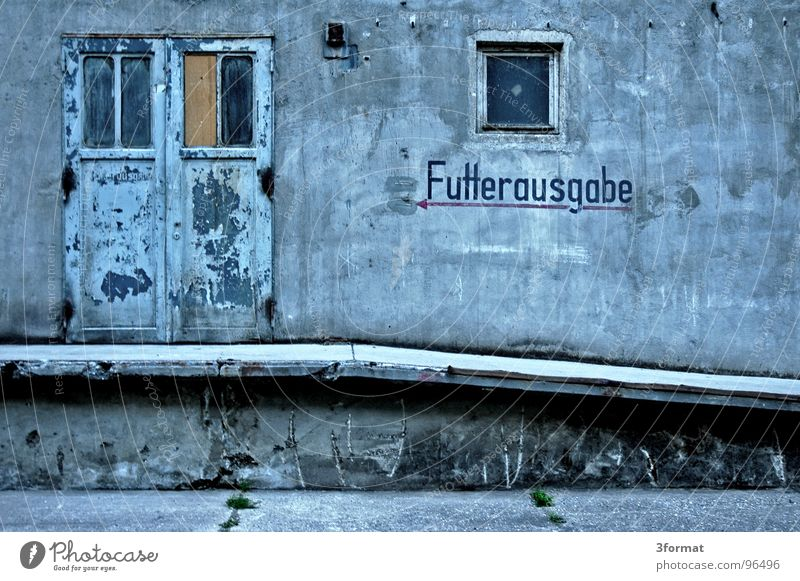 Old Calm Nutrition Loneliness Cold Wall (building) Window Stone Wall (barrier) Door Food Concrete Empty Industry Stairs Factory