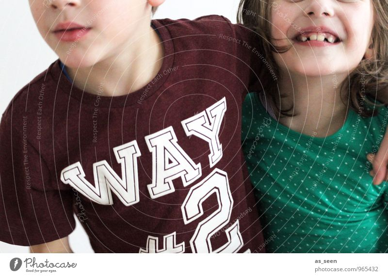 Human being Child Girl Face Life Feminine Boy (child) Going School Friendship Family & Relations Together Masculine Blonde Authentic Infancy