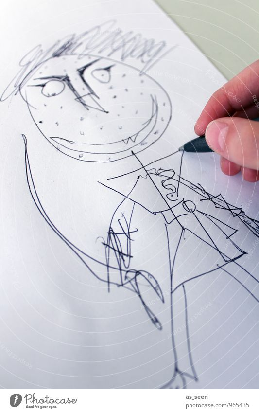 samurai Infancy Life Hand Art Artist Work of art Drawing Scribbles Fashion Clothing Samurai Costume Conceptual design Carnival Sword Sign Fight Aggression Point