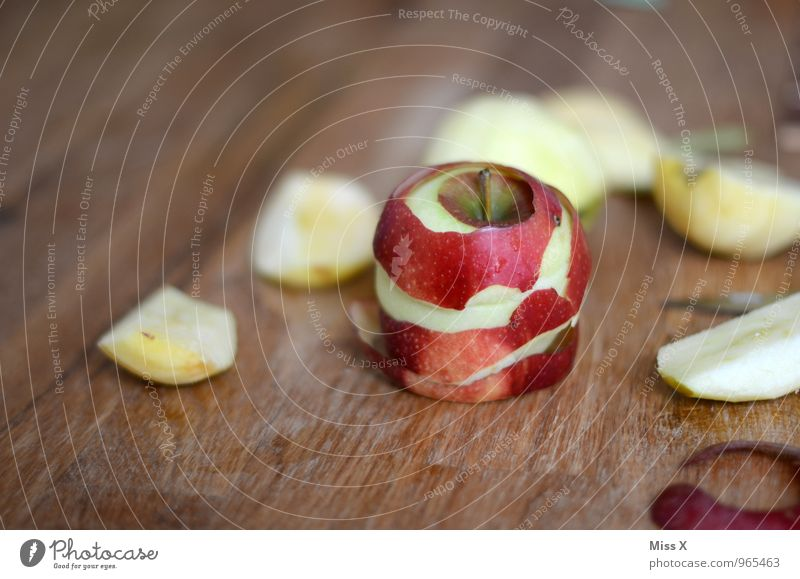 apple day Food Fruit Apple Organic produce Vegetarian diet Diet Healthy Eating Fresh Delicious Juicy Sour Sweet Apple skin Sheath Chopping board Colour photo