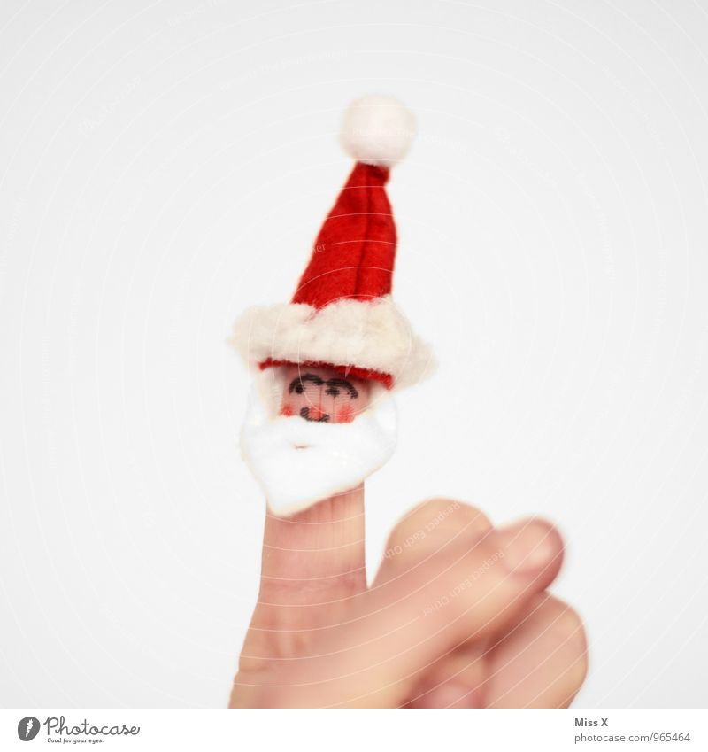 ho ho ho Leisure and hobbies Playing Children's game Christmas & Advent Masculine Hand Fingers 1 Human being 45 - 60 years Adults 60 years and older