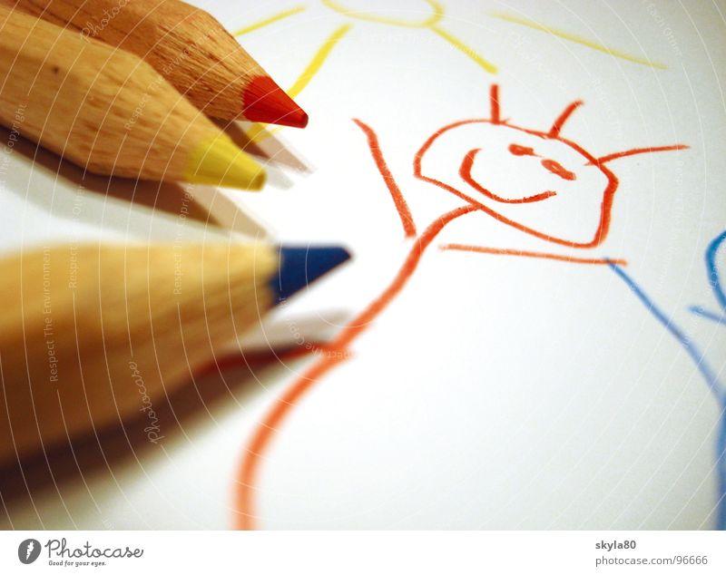 Monday painter Crayon Colorant Multicoloured Sharpener Splinter Trash Wood Shavings Drawing Write Close-up Sharpened Detail Childhood memory Paper
