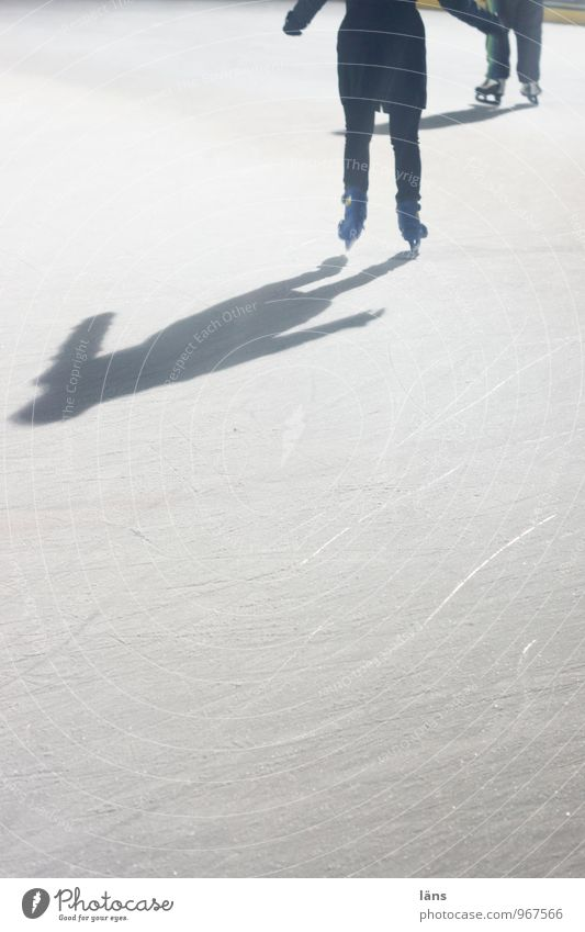 Winter Leisure and hobbies Frost Effort Ice-skating Winter vacation Glide Self Control Skating rink