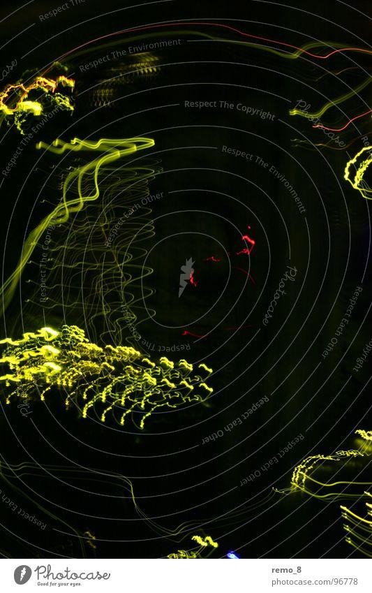 Dark Movement Art Modern Electricity Media Dynamics Information Technology Neon light Awareness Flashy Laboratory Small room Photo laboratory