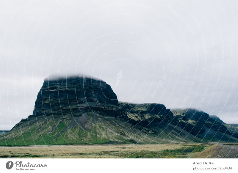 Iceland Vacation & Travel Trip Adventure Far-off places Freedom Environment Landscape Plant Elements Earth Air Sky Clouds Climate Bad weather Rain Hill Rock