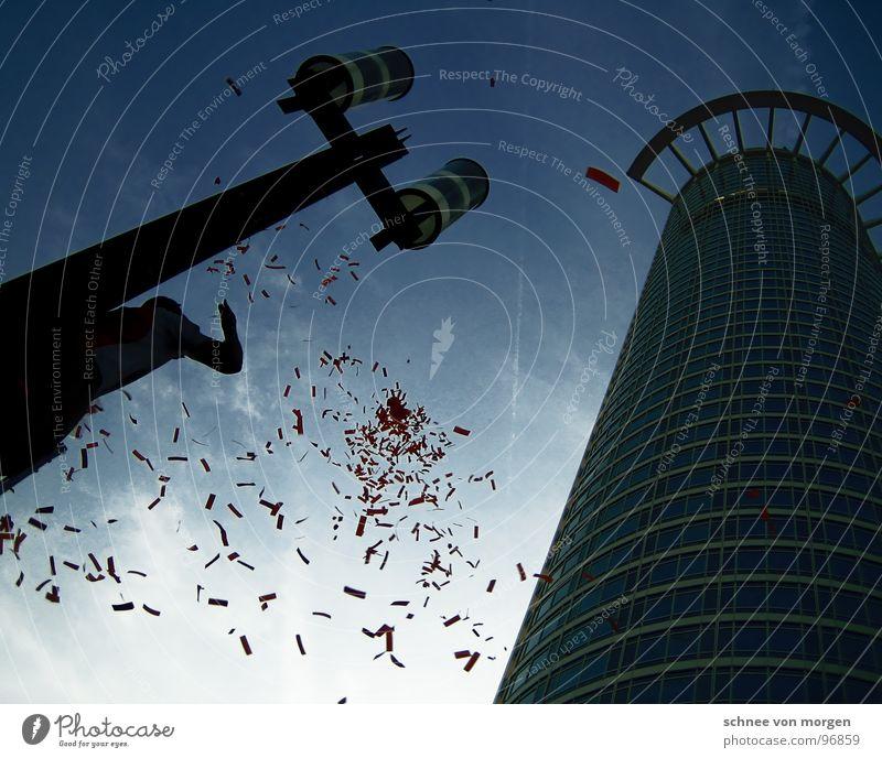 Sky Level Target Lantern Border Frankfurt Confetti Vertigo