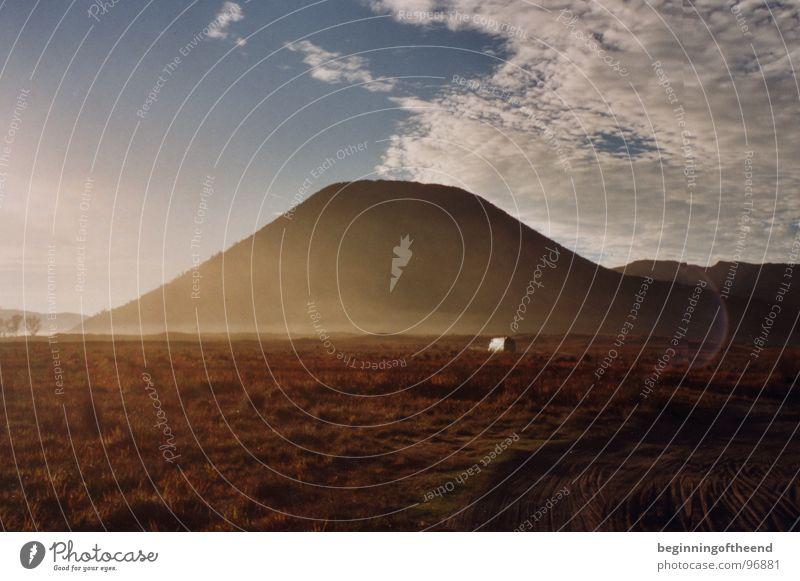 Clouds Loneliness Mountain Sand Desert Volcano Indonesia Vulcano