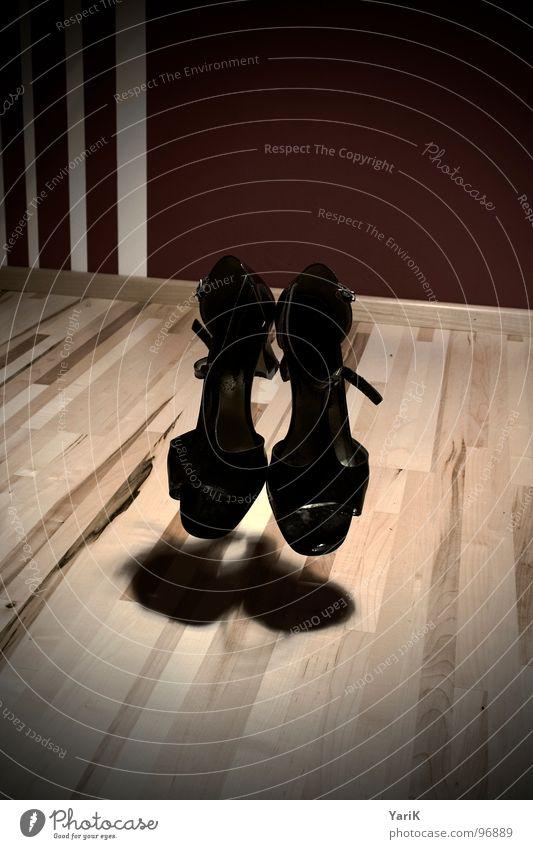 ghost queen Footwear Sneakers Wooden floor Plank Parquet floor Laminate Shoelace Drop shadow Black White Gray Magic Curse Ghosts & Spectres  Creepy Room