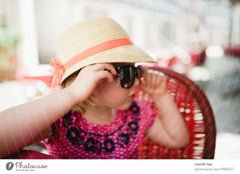 summertime Lifestyle Shopping Luxury Style Vacation & Travel Tourism Trip City trip Summer Summer vacation Child Toddler Girl Infancy 1 Human being 1 - 3 years