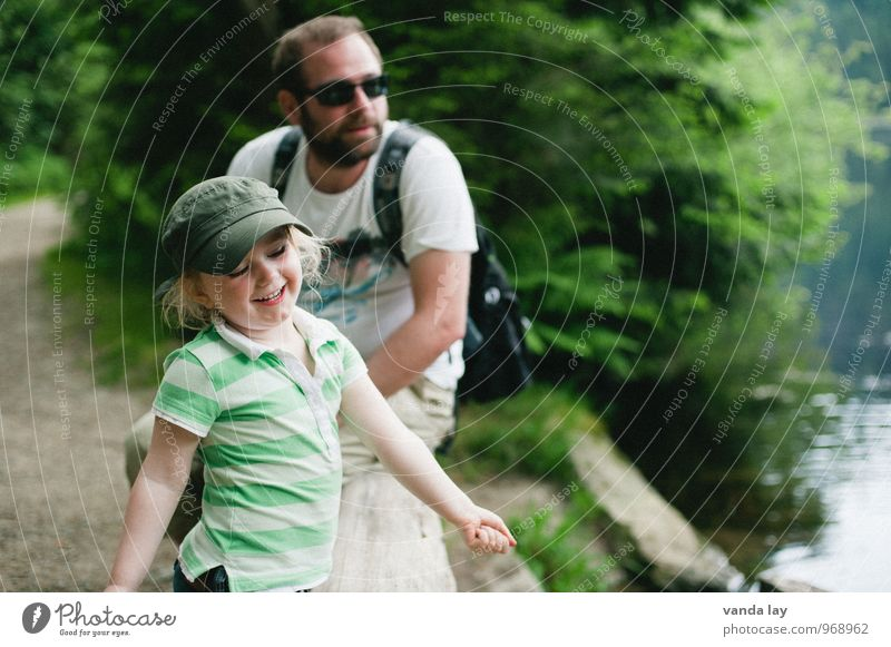 Human being Child Vacation & Travel Youth (Young adults) Man Young man Girl 18 - 30 years Adults Life Family & Relations Leisure and hobbies Hiking Infancy Toddler Father