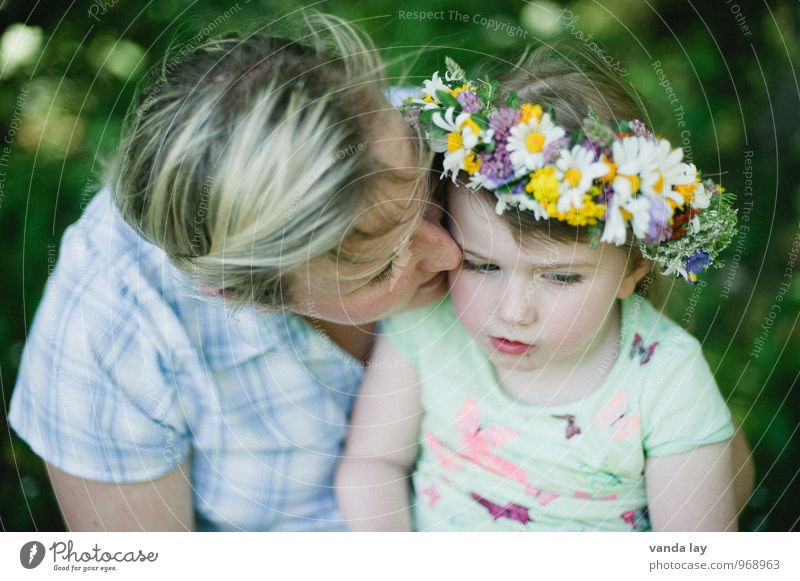 Human being Woman Child Youth (Young adults) Young woman Flower Girl Adults Life Love Family & Relations Hair and hairstyles Garden Together Friendship