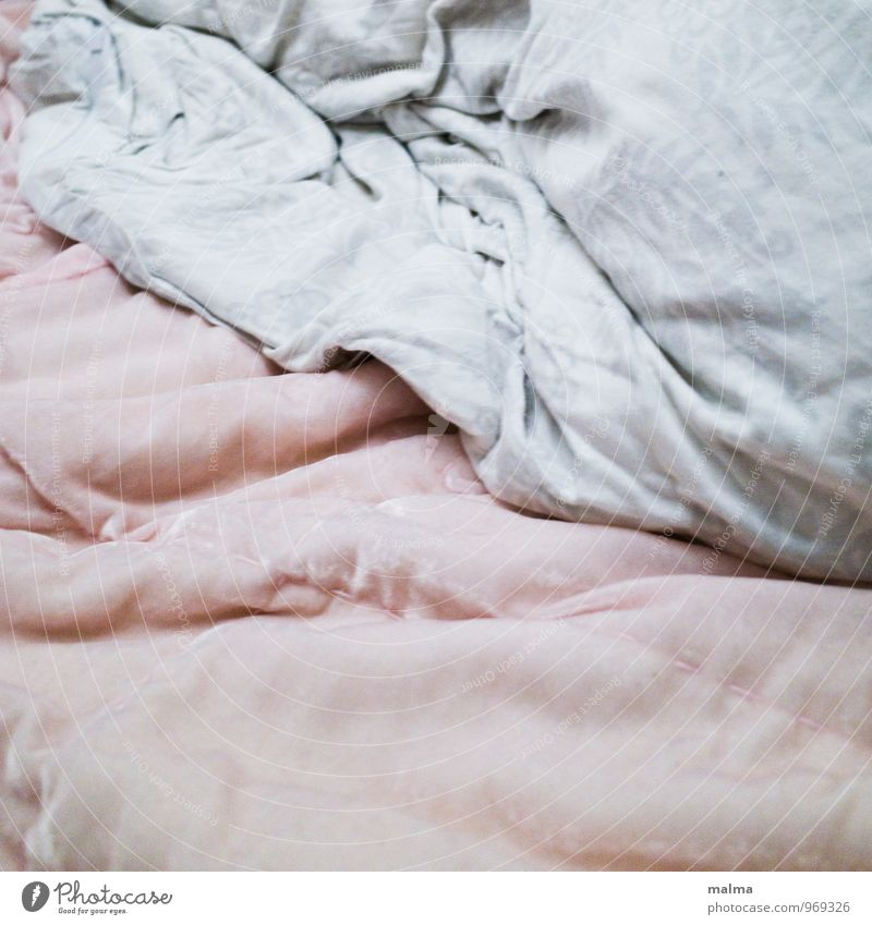 Warmth Pink Decoration Empty Soft Bedclothes Wrinkles Blanket Smooth Cozy Cuddly Duvet Sheet Second-hand Velvet Appealing