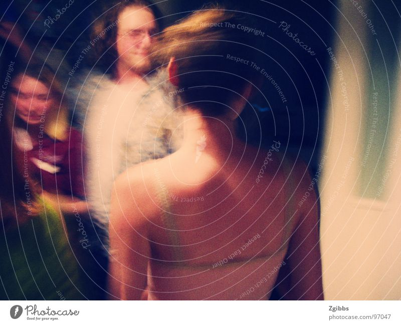 Girl at the Party Youth (Young adults) Grief Distress shoulder blur sad night fun