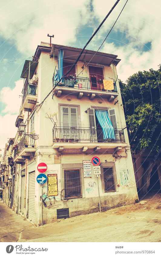 The best thing in life is free. Style Vacation & Travel City trip House (Residential Structure) Town Capital city Old town Building Architecture Facade Balcony