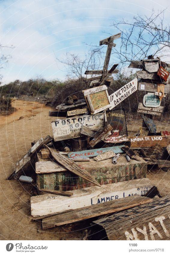 Ocean Island Card Mailbox South America
