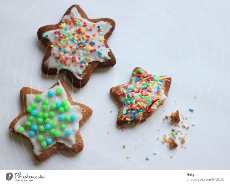 Christmas & Advent Beautiful White Food Brown Moody Lie Fresh Esthetic Creativity Joie de vivre (Vitality) Uniqueness Star (Symbol) Delicious Candy Fragrance