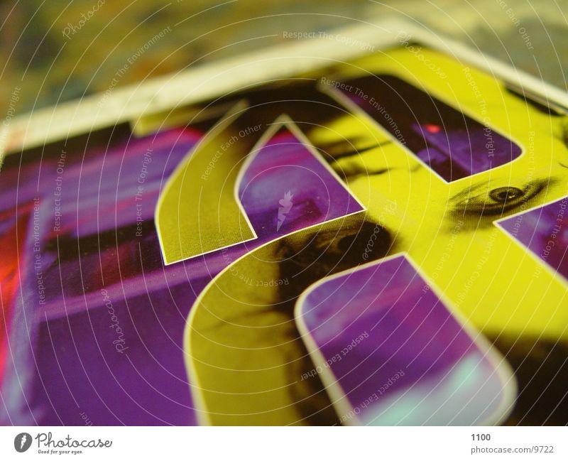 postcard Table Card Colour & Macro (Extreme close-up) Lie Head picture