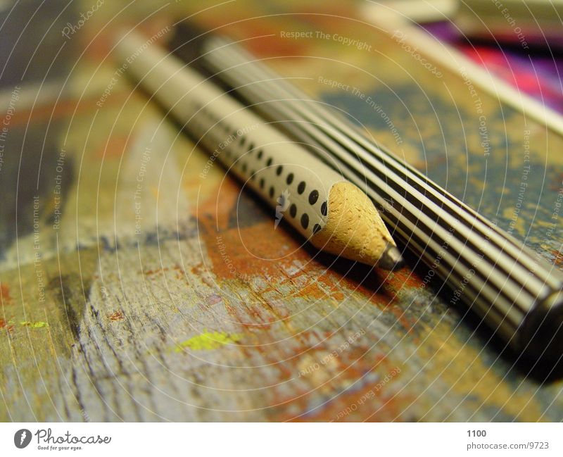 Wood Painting (action, work) Write Desk Furniture Pen Pencil Board Across Felt-tipped pen