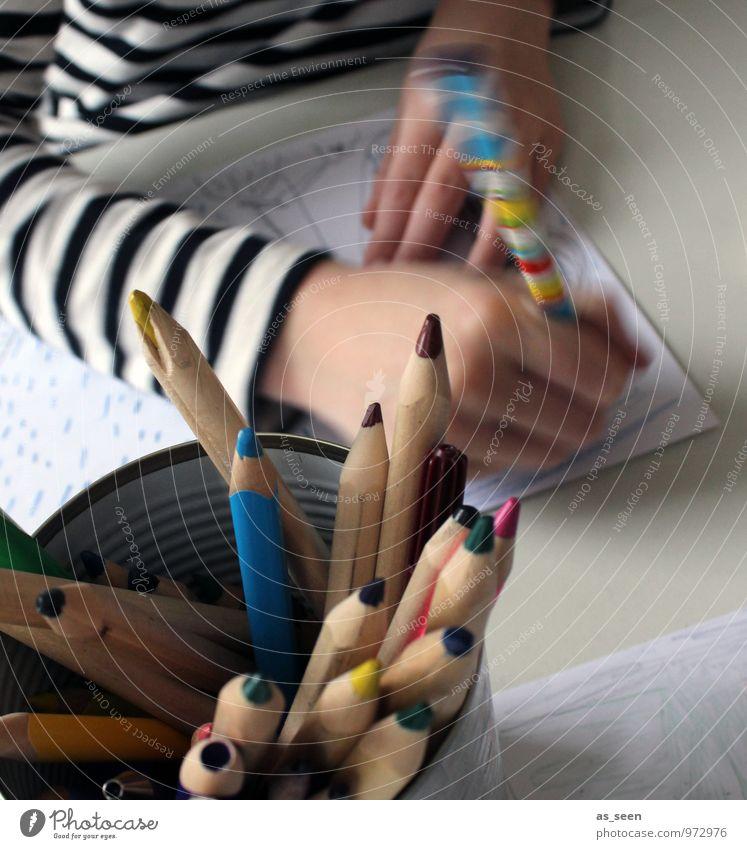 Human being Child Colour Hand Life Art Authentic Infancy Table Fingers Creativity Joie de vivre (Vitality) Study Idea Paper Painting (action, artwork)