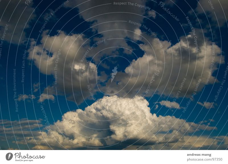 Sky Blue Clouds Tall Dangerous Threat Tower Dynamics Thunder and lightning