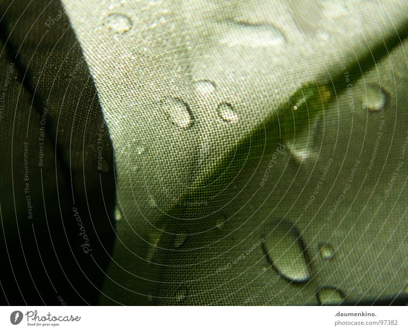 Water Beautiful Rain Drops of water Wet Transience Fluid Damp Tent Thread Covers (Construction) Watertight