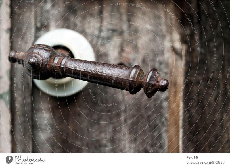 Old White Cold Wood Brown Art Metal Door Power Authentic Esthetic Idea Uniqueness Retro Plastic Discover