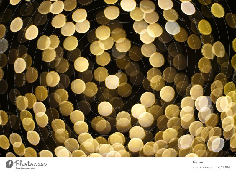 It's not all gold that glitters Gold Moody Light (Natural Phenomenon) Festive Christmas & Advent Sea of light Glamor Glitzy Fairy lights Glimmer Glittering