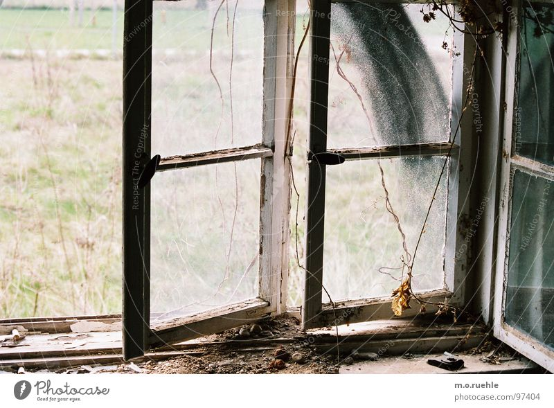 House (Residential Structure) Loneliness Window Transience Derelict Decline