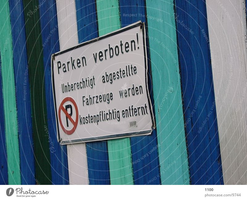 Parking Forbidden Clearway Things Signs and labeling