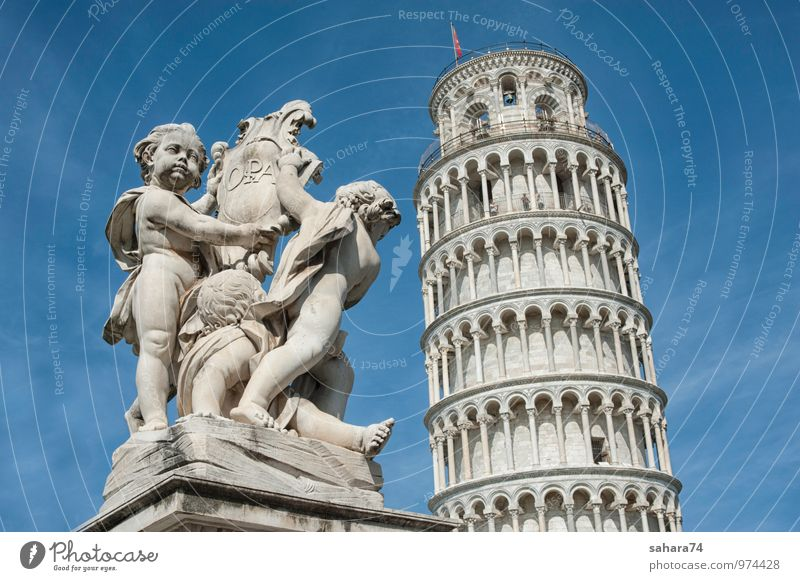 pisa Vacation & Travel City Summer Sun Far-off places Window Wall (building) Wall (barrier) Garden Facade Park Stairs Door Tourism Places Trip