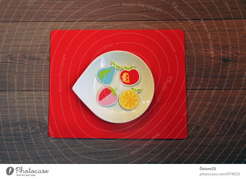 fruit plate Fruit Apple Orange Crockery Plate Style Joy Healthy Healthy Eating Well-being Doctor Kitchen Art Painting and drawing (object) Garden Bowl