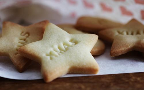 Christmas & Advent Beautiful Eating Food photograph Moody Characters Nutrition Cooking & Baking Stars Sign Candy Anticipation Paper bag Joy